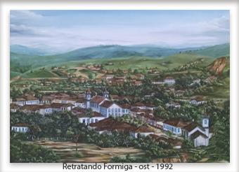 Retratando Formiga no século XIX - ost - 60x80 - 1992