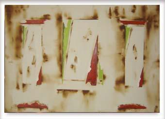Abstração com sépia - ast - 100 x 150 - 2012