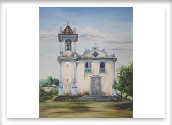 Igreja do Rosário - ost - 50x60 - 1990