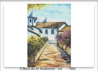 O Beco do Zé Teodomiro - ost - 30x50 - 1992