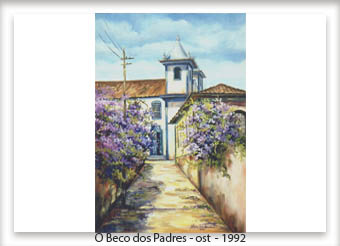 O Beco dos Padres - ost - 30x50 - 1992