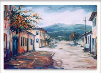 Rua de Tiradentes - ost - 50x60 - 2004