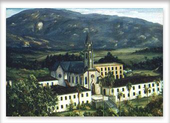 Um olhar para o Convento do Caraça - ost - 60x80 - 2000