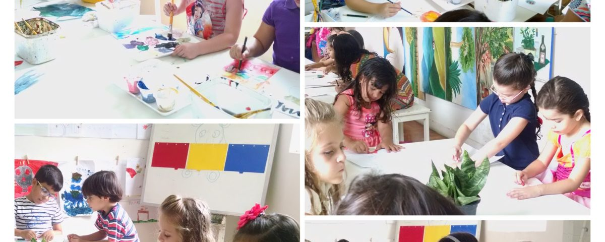 oficina de arte para crianças